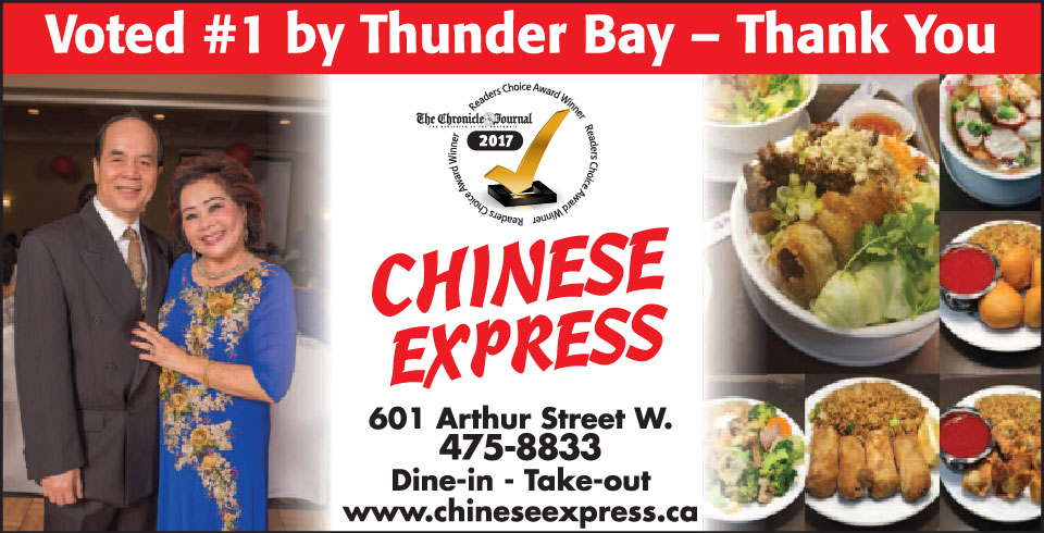 Voted #1 in Thunder Bay