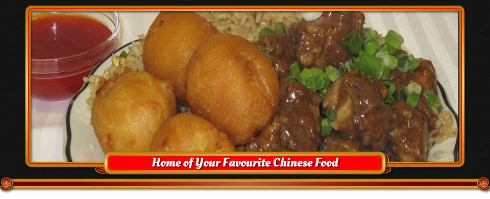 Home of Your Favourite Chinese Food | Chicken balls, garlic ribs, fried rice