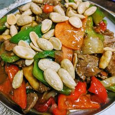 Guy Ding with Almonds with Beef